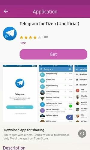 Telegram App for Tizen 4