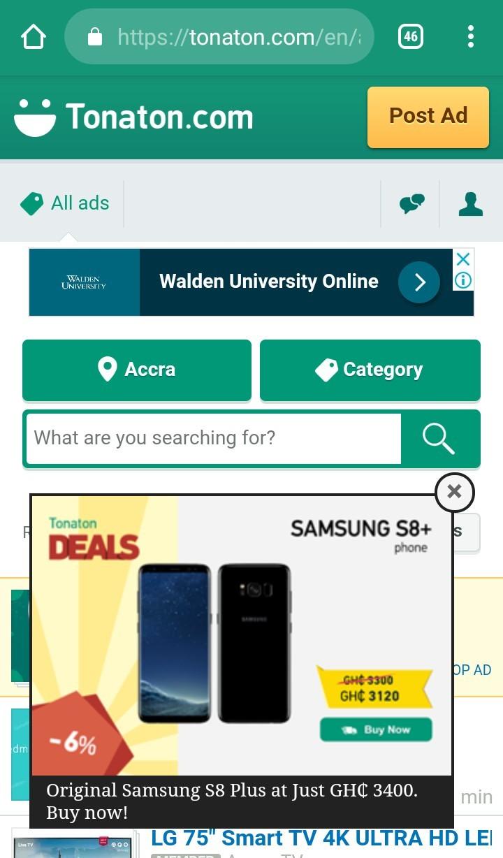 Tonaton Mobile Ad