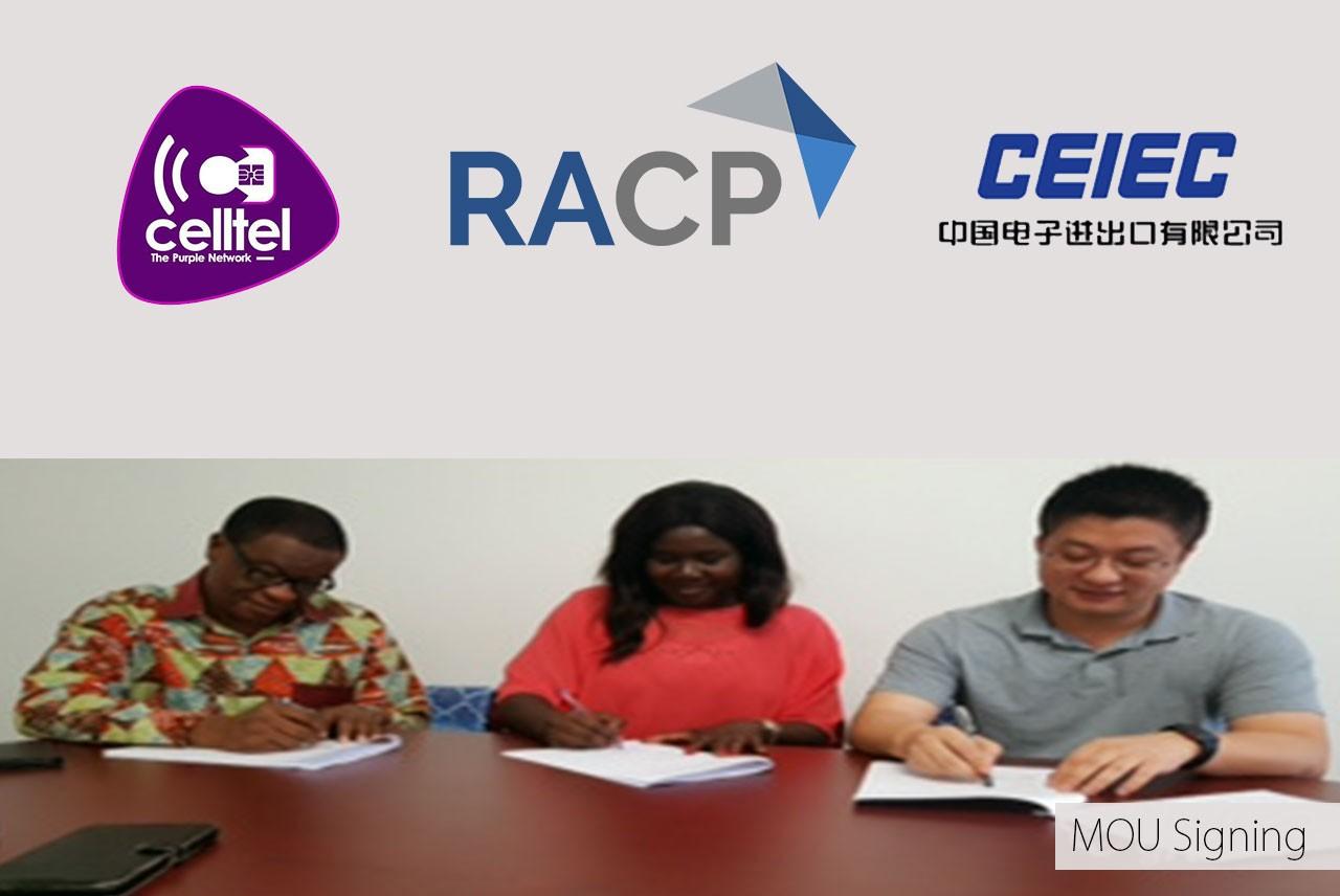 Celltel, RAC, CEIEC pen MOU for Smart Cities project