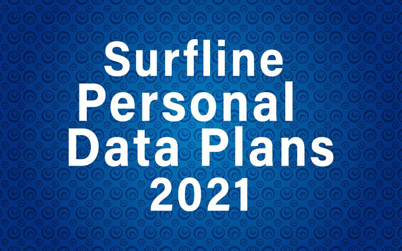 Surfline Personal Data Plans 2021